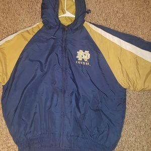 Vintage notre dame jacket